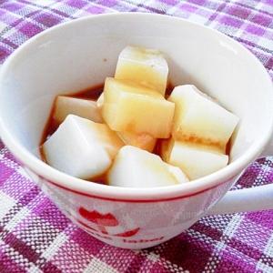 食べたらカフェオレな牛乳寒天♪