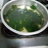 かんたんにんにくスープ