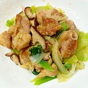 鶏とセロリのさっぱり炒め