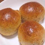 20年前のHBで簡単★天然酵母全粒粉くるみパン