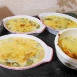 醤油とレモン汁使用!豆腐と小松菜のグラタン
