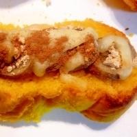 ☆バナナときなこのチーズトースト
