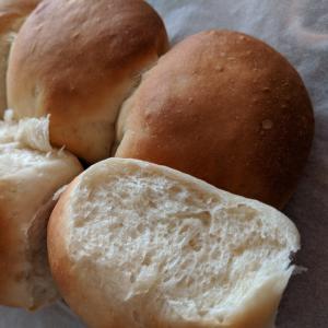 甘さにほっこり♪ポリ袋で簡単ちぎりパン