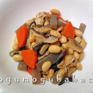 ダイエット中の方限定!薄味に煮付けたヘルシーな煮豆