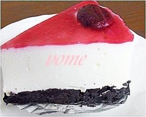 お嫁さんの絶品☆ダークチェリーのレアチーズケーキ