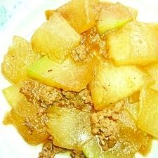 冬瓜の肉味噌煮