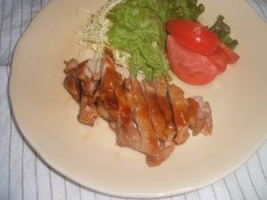 鶏もも肉でご飯がススム~照り焼きチキン