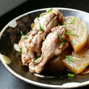 簡単、煮込むだけ♥鶏と大根の煮物♪