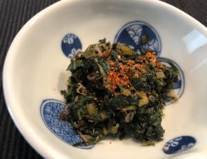 ふきの葉の佃煮☆かつお風味