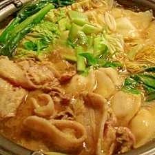 ちゃんこ鍋 カレー味
