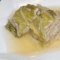*白菜と豚バラ肉の重ね煮*