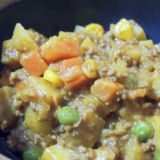 超簡単30分!野菜たっぷり!ヘルシー キーマカレー