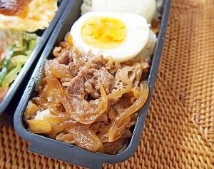 お弁当用牛丼