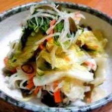 冬野菜のお漬物