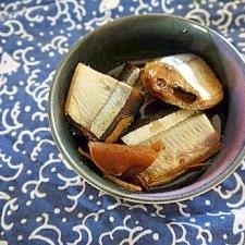 圧力鍋で サンマの煮物