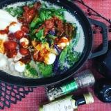 絶対美味しいハイブリッド鍋!豆乳ピザ鍋