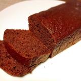 バター少なめ♫濃厚ショコラパウンドケーキ