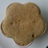 レンジで簡単! コーヒー米粉蒸しパン