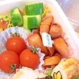 幼稚園のお弁当★三角おにぎり