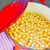 ストック用☆ひよこ豆の水煮