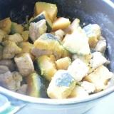 豚肉とかぼちゃの炒め煮