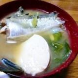 ハタハタの味噌汁