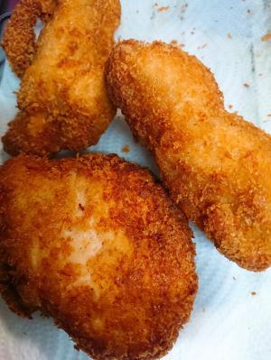 鶏むね肉で定番のチキンカツ