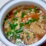 かき揚げ風味な蕎麦++