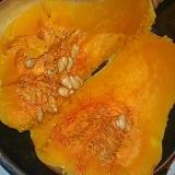 バターナッツかぼちゃのダッチオーブン丸焼き