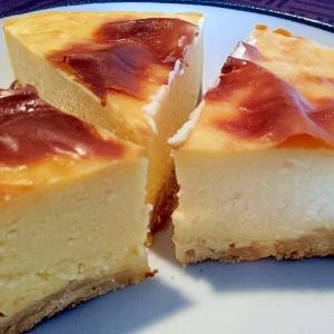 しっとり♡濃厚ベイクドチーズケーキ