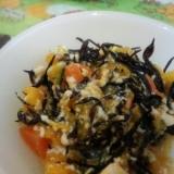 ひじきと根菜の白和え☆離乳食