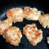 離乳食★ふわふわ豆腐ハンバーグ