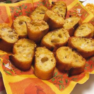 フライパンで作る♪ガーリックトースト