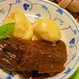 牛サガリ肉のデミグラスソース煮