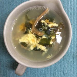 メンマで♪中華スープ