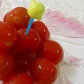 ミニトマトの蜂蜜レモン