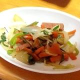 こってり塩味野菜チャンプルー