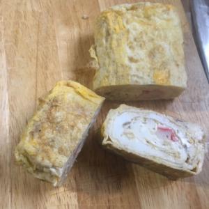卵白多めの卵焼き