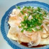 フライパンで揚げ出し豆腐