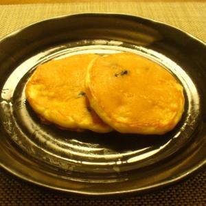 黒豆とカッテージチーズのヘルシーホットケーキ