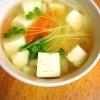 大根、豆腐のみそ汁