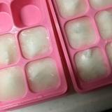 離乳食10倍粥の冷凍保存方法(*^^*)☆
