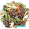 プルコギビーフで和野菜炒め