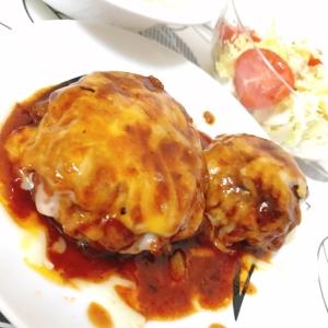 チーズたっぷり♡ハンバーグ