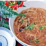 中華風きのこスープ