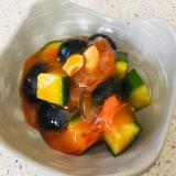 柿和えサラダ