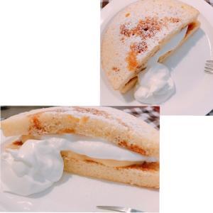 カラメルソース&カスタードクリームでプリンケーキ♪