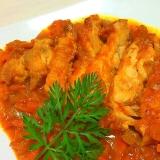 濃厚ミネストローネで超簡単!具沢山鶏のトマト煮♡