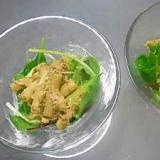鶏とジェノベーゼのマカロニサラダ