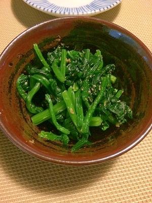 お弁当に☆ほうれん草のオリーブオイル和え